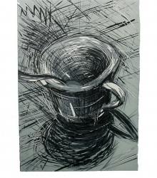 Intaglio printing - A cup